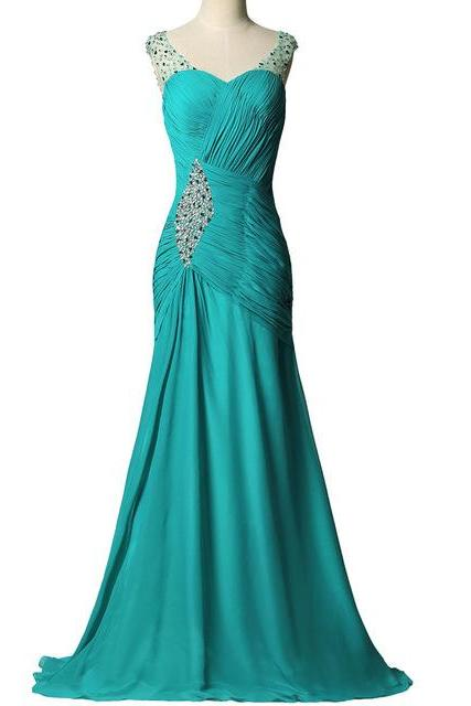 Mermaid Prom Dresses,Prom Dresses Cheap 2017,Formal Evening Gowns,Party Dress