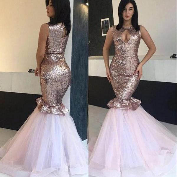 Sequins Prom Dresses,Mermaid Prom Dress 2019,Evening Gowns,Formal Dress,Ever Pretty,Special Occasion Dress